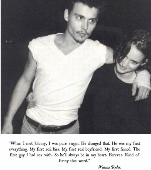 Winona Ryder And Johnny Depp Tattoo Famous Tombs: L...