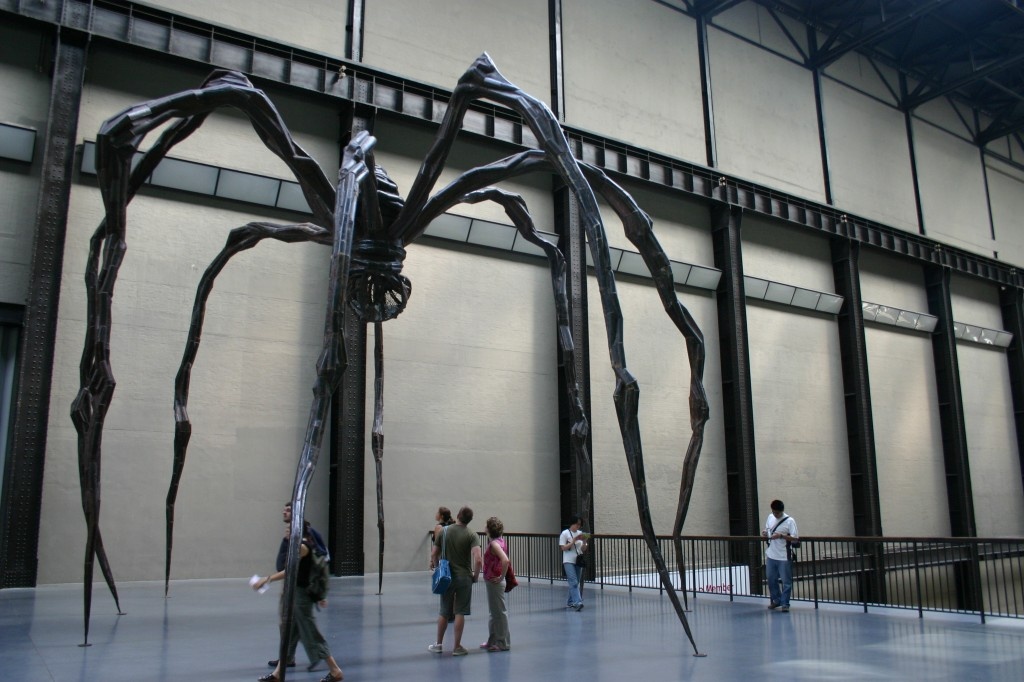 Louise Bourgeois, 'Maman' in the Turbine Hall