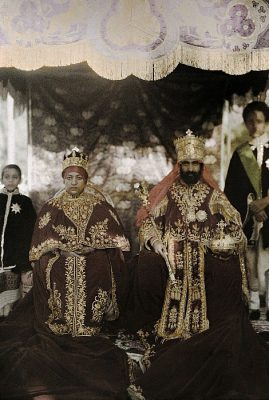 Robert W. Moore, The Coronation of Haile Selassie. 1931