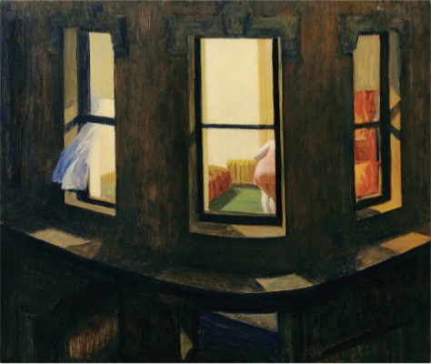 Edward Hopper, 'Night Windows' (1928)