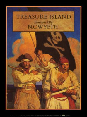 Treasure Island Wyeth cover