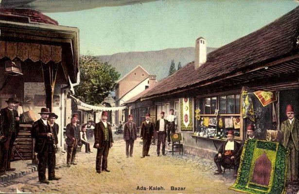Ada Kaleh in 1912.